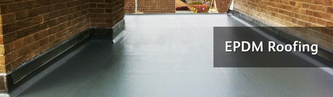 Rubber flat roofs