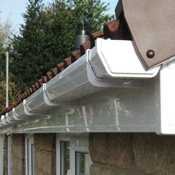 New uPVC fascias